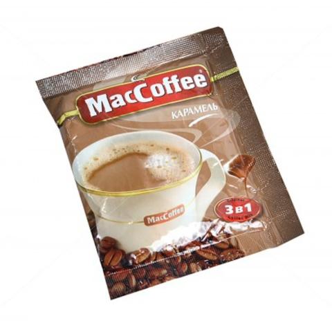 Кофе MacCofee 3 в 1 Ингрид Карамель 18 гр СИНГАПУР