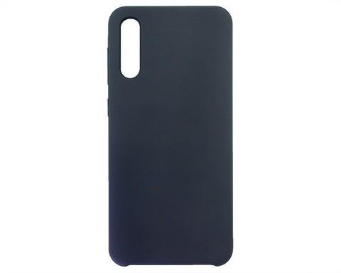 Чехол для Samsung Galaxy A50(A505F)/A30s(A307F)/A50s(A507F) - 2019 Liquid Silicone | темно-синий