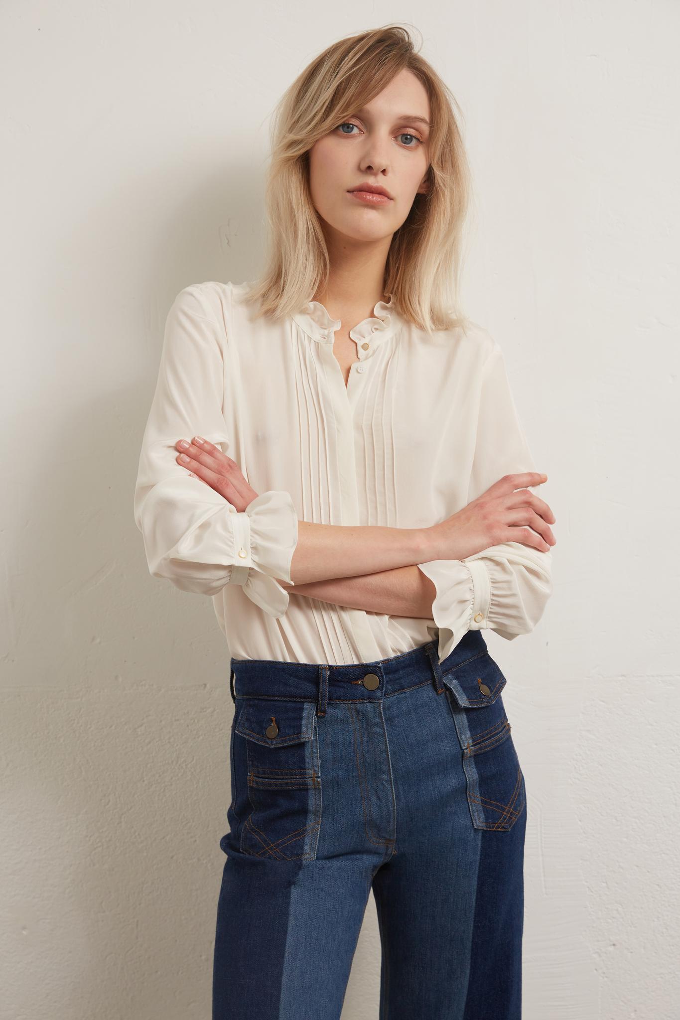 AGATA - Шелковая блузка