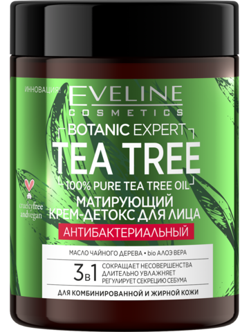 BOTANIC EXPERT TEA TREE