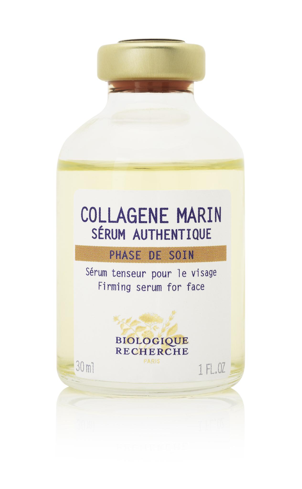 Сыворотка для лица, шеи, декольте BIOLOGIQUE RECHERCHE Collagene Marin 30 мл