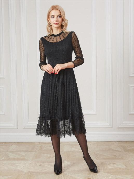Платье 12016C черный