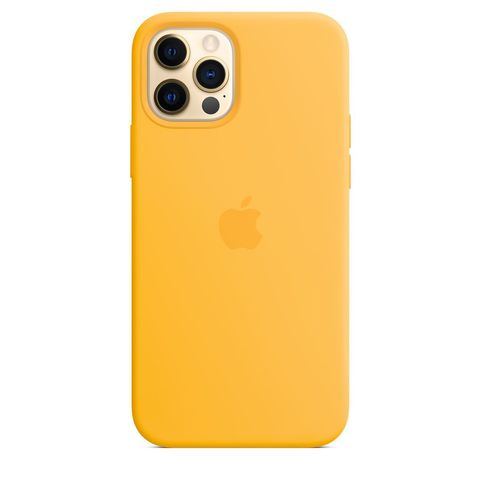 Чехол iPhone 12 Pro Max Silicone Case with MagSafe /sunflower/