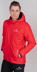 Утеплённая лыжная куртка Nordski Urban Red мужская