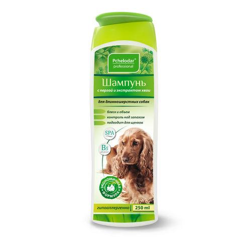 купить Пчелодар гигиенический шампунь с пергой и хвоей для длинношерстных собак
