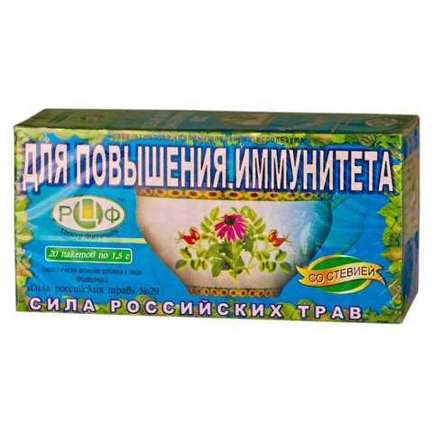 Фитосилы российских трав n29 для повышения иммунитета 1,5 Н20, ф / п