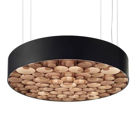 Подвесной светильник Spiro by LZF D80 (черный)