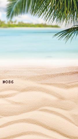 Фотофон виниловый «Пляж» №086