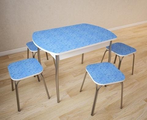 Стол обеденный ОРФЕЙ-6 пластик