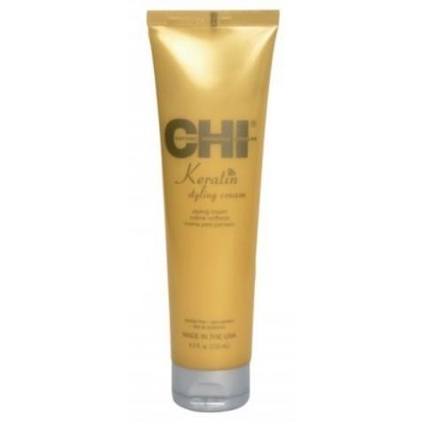 CHI Keratin: Моделирующий крем с кератином для волос (Keratin Styling Cream), 133мл