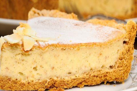Безглютеновый творожный пирог