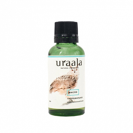 Масло гидрофильное, для нормальной кожи URA'ALA, 30 мл