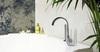 Встраиваемый термостатический смеситель на борт ванны с комплектом для душа RS-CROSS 6233TSCAM - фото №2