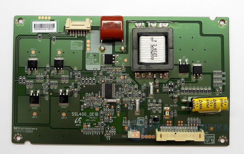 SSL400_0E1B REV0.1 LED-Driver телевизора Toshiba купить