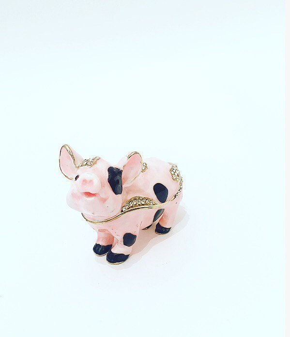 Шкатулка Свинья