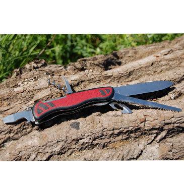 Складной швейцарский нож Victorinox Forester red/black, 111 мм., 10 функций (0.8361.C) - Wenger-Victorinox.Ru
