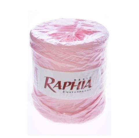 Рафия искусственная Италия 200 м Цвет: светло-розовый