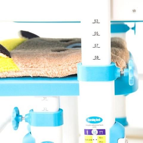 Комплект RIFFORMA Comfort-07: парта + лампа с дисплеем +стул+ мягкий чехол