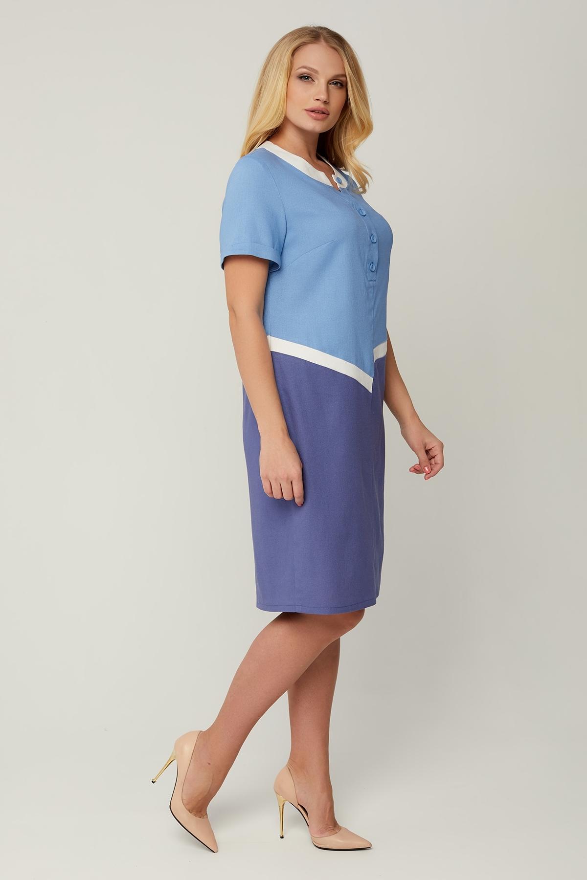 Платье Рената (голубой)