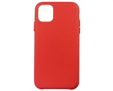 Чехол для iPhone 11 экокожа | красный
