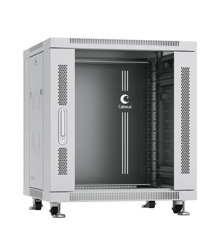 Шкаф напольный 19-дюймовый, 12U SH-05C-12U60/60 (7645c)