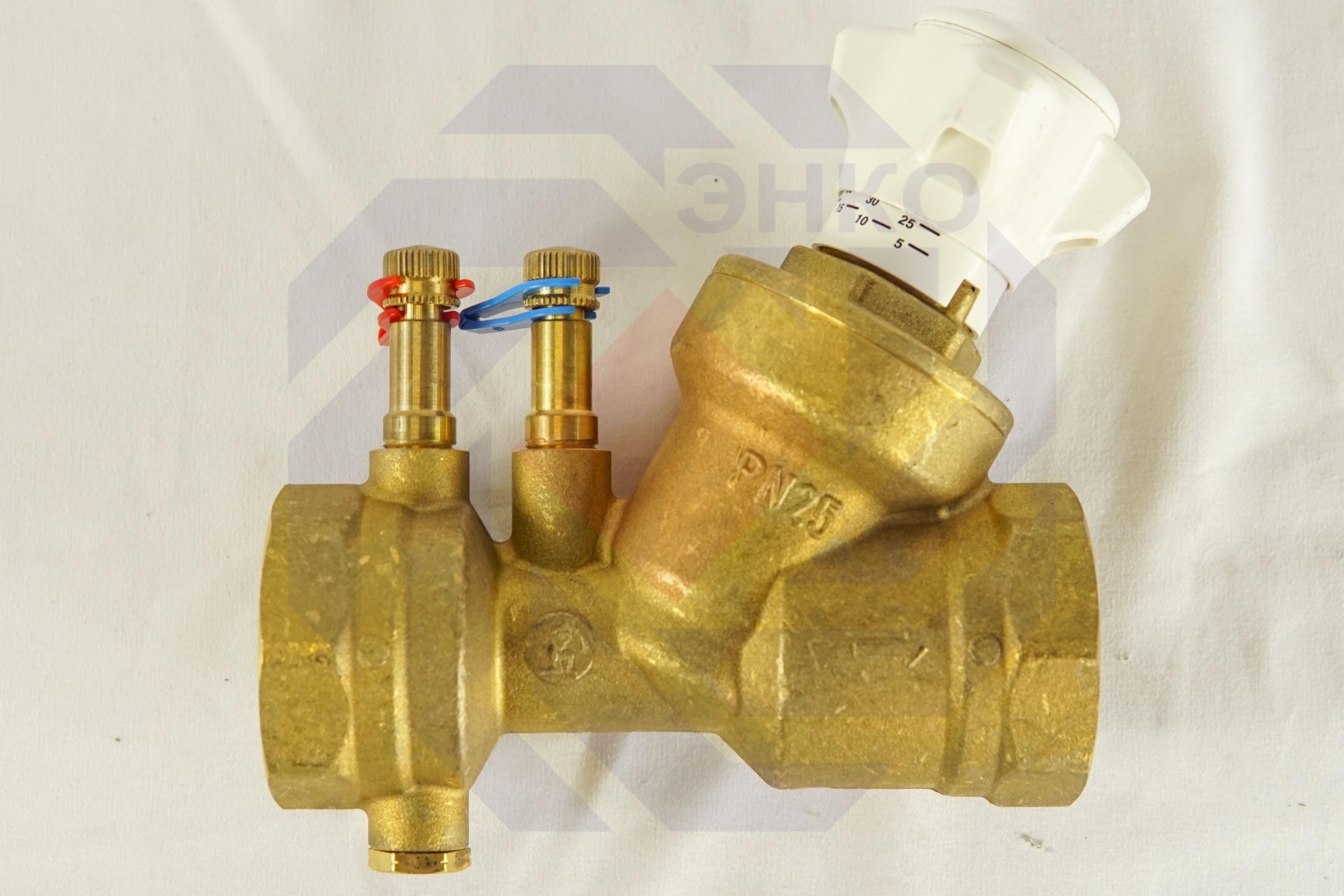 Клапан балансировочный GIACOMINI R206B DN 40