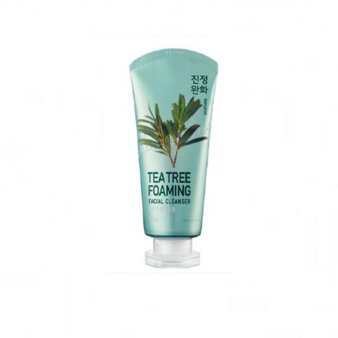Пенка для умывания смягчающая с экстрактом чайного дерева Welcos IOU Foaming Facial Cleanser