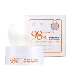 Гидрогелевые патчи PETIFEE Collagen & CoQ10 Hydrogel Eye Patch 1.4g X 60ea