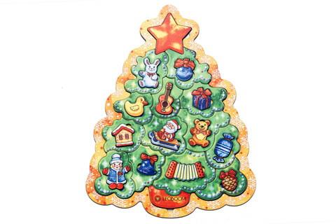 Пазл Новогодняя елочка