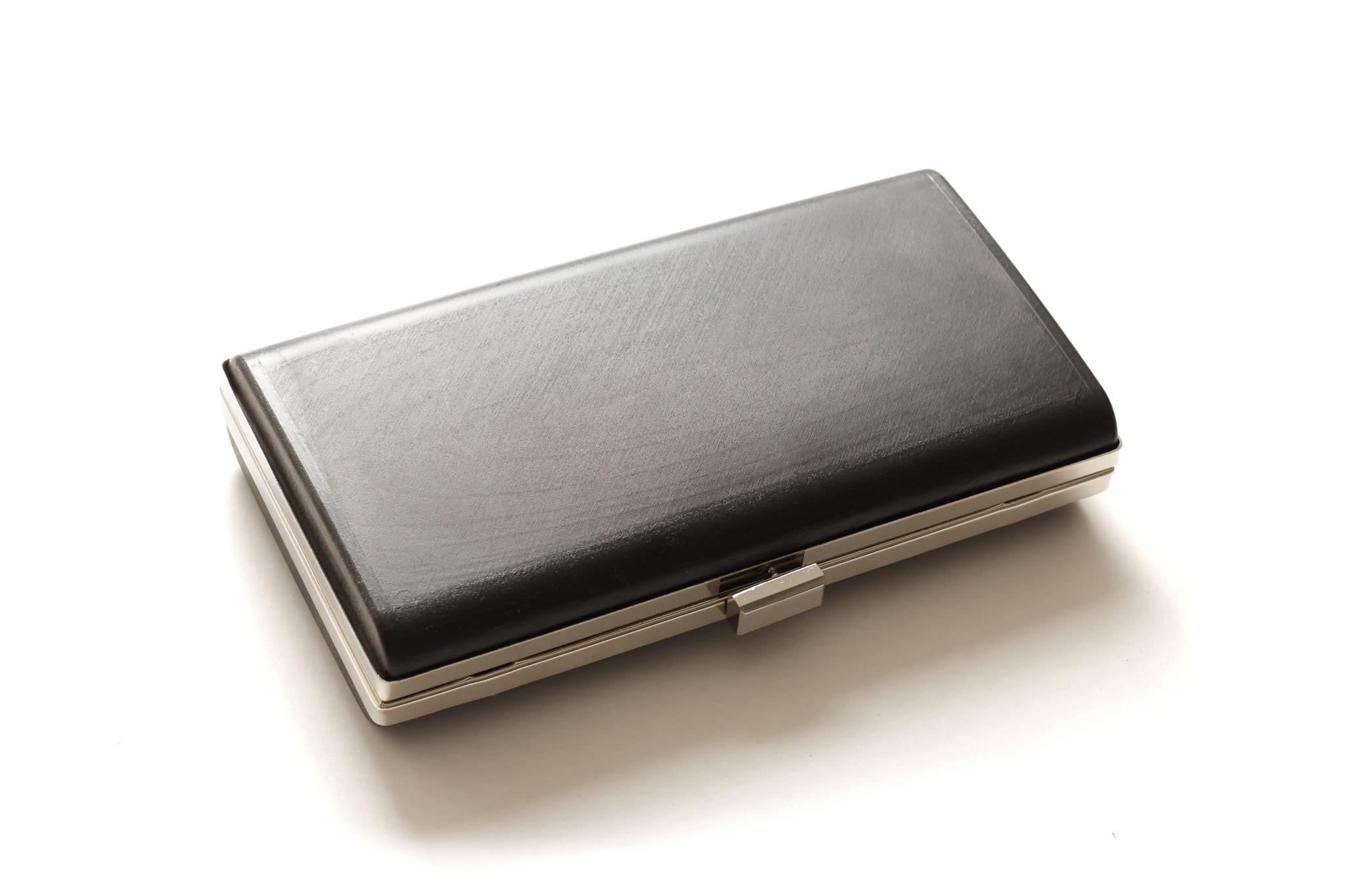 Клатч бокс 22х12 см, основа (хром)