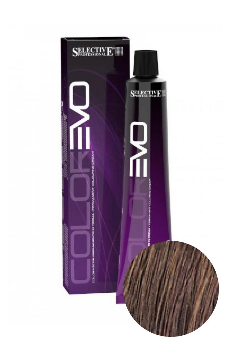 Краска для волос ColorEVO 5.04 (Светло-каштановый Эбеновое дерево), Selective, 100 мл