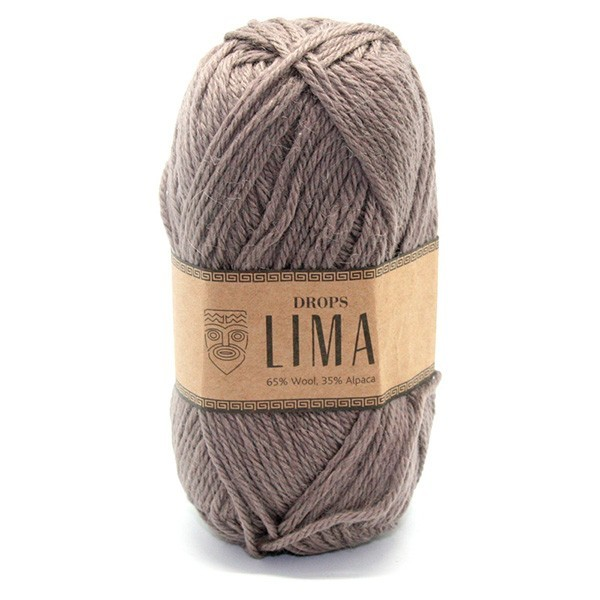 Пряжа Drops Lima 5310 темный беж