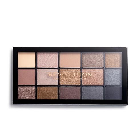 Палетка теней Makeup Revolution Re-Loaded Palette Smoky Neutrals