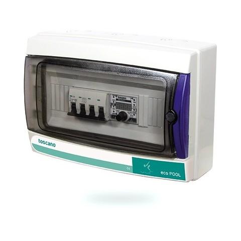 Панель управления фильтрацией Toscano ECO-POOL-400 10002509 (380В) с таймером / 18655