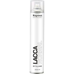 KAPOUS лак аэрозольный для волос нормальной фиксации 500мл.
