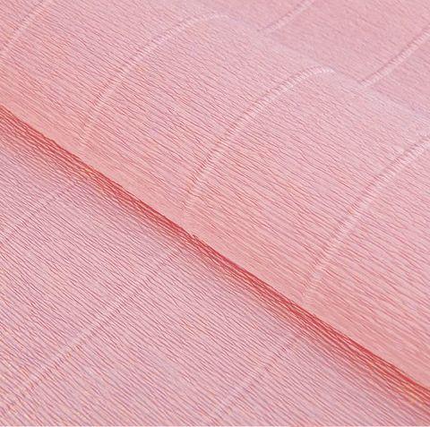 Гофрированная бумага однотонная. Цвет 17А/3 дымчатая роза 180 г