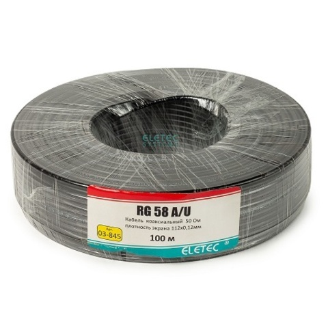 ВЧ кабель ELETEC RG-58 A/U