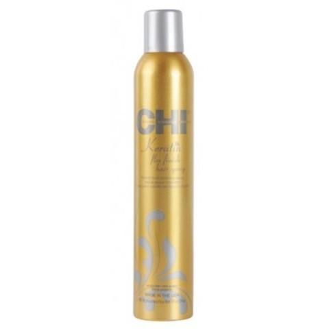 CHI Keratin: Лак для волос сильной фиксации с кератином (Keratin Flexible Hold Hairspray), 74г/284г