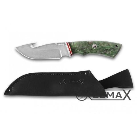 Нож Скиннер, булат, стабилизированная карельская берёза