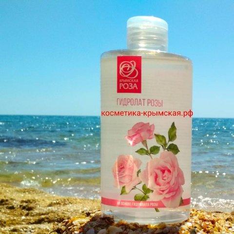 Гидролат «Роза» 450 мл ™АО Комбинат Крымская роза
