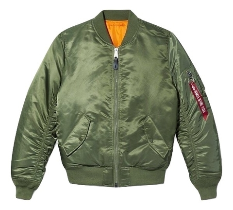 Бомбер Alpha Industries MA-1 W Sage Green (Зеленый)