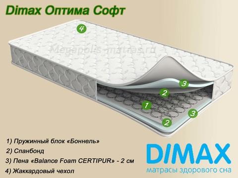 Матрас Dimax Оптима Софт от Мегаполис-матрас