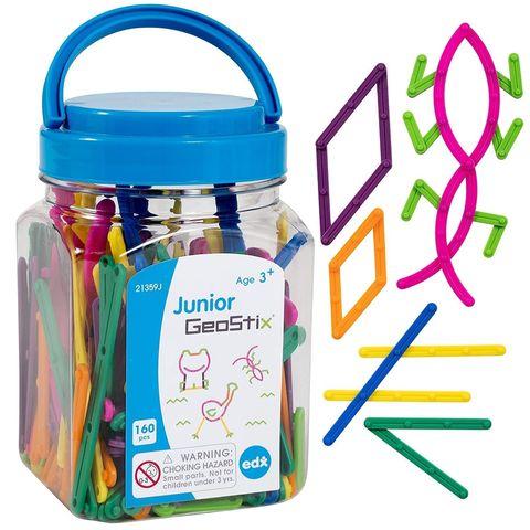 Развивающий набор Конструктор Геостикс (счетные палочки, 160 деталей) EDX Education, арт. 21359J