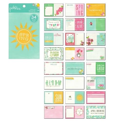 Набор журнальных  карточек  28шт