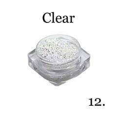 Хрустальная крошка(мелкая) белая 12