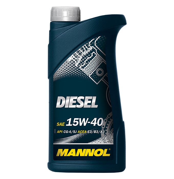 Mannol Diesel 15W-40 - Минеральное моторное масло для дизельных автомобилей