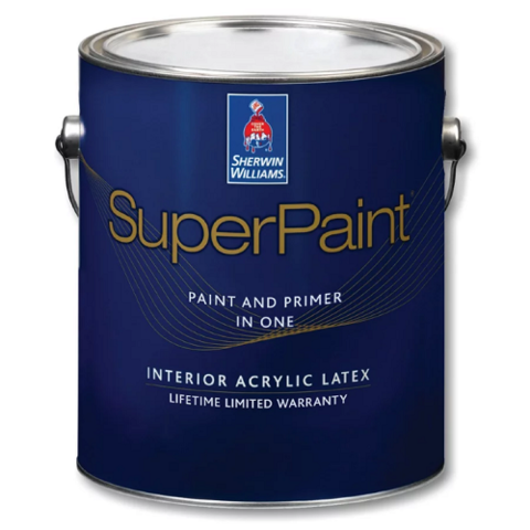 Краска Sherwin-Williams SuperPaint Interior Latex Flat