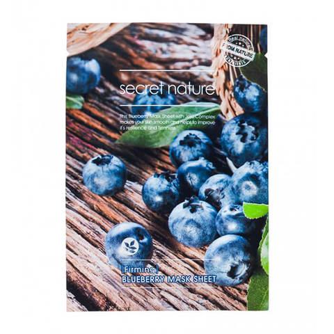 Secret Nature Firming Blueberry Mask Sheet