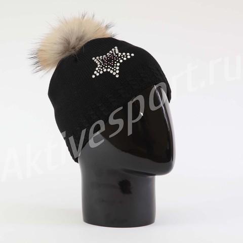 Картинка шапка Eisbar selina fur crystal 009 - 2