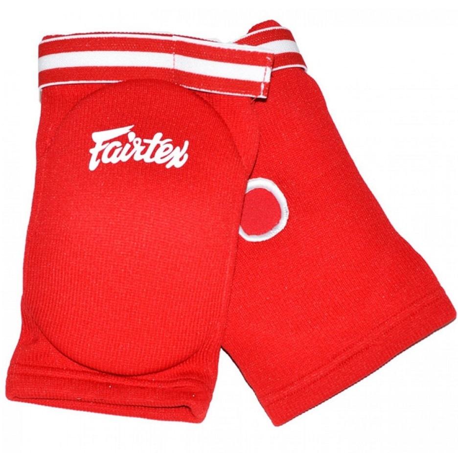 Налокотники Налокотники Fairtex Elastic Elbow Pads EBE1 Red 1.jpg